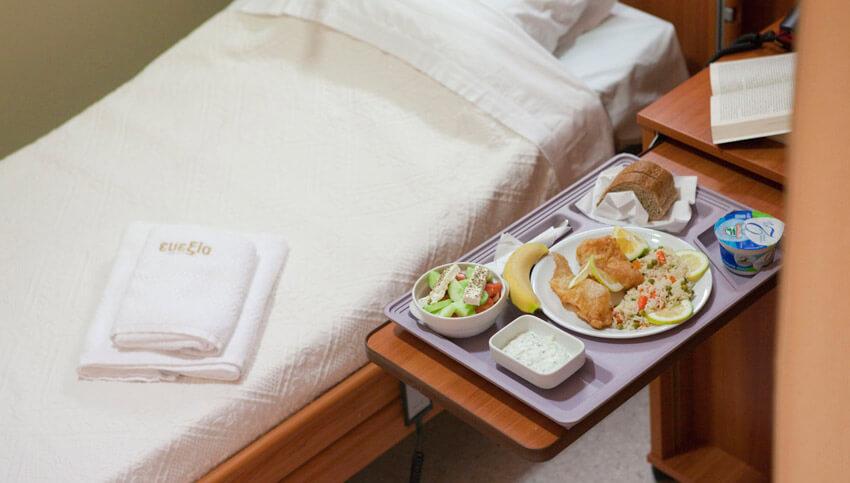 Завтрак прямо в постель l Медицинский реабилитационный центр Эвексия