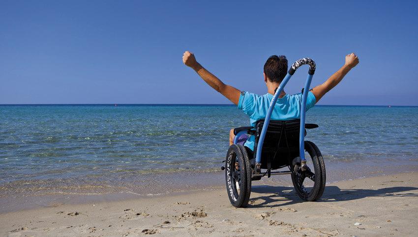На коляске у моря l Лечебно оздоровительные туры - Evexia