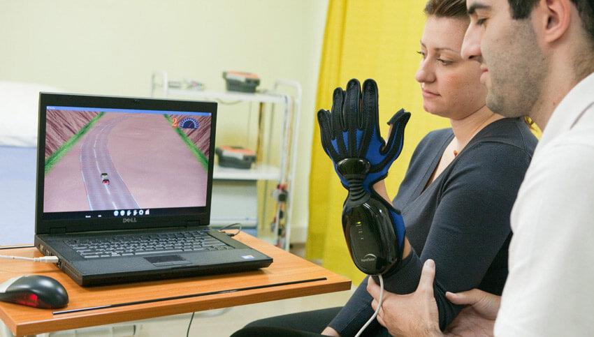 Роботизированная система востановления конечностей - рук