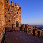 Замок в Салониках,Греция-Evexia