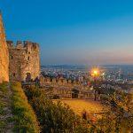Средневековый замок в Салониках,Греция-Evexia
