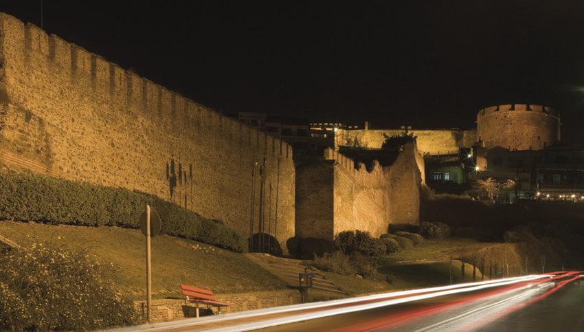Крепость Фессалоники l Прекрасные виды Греции